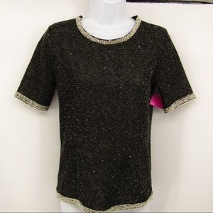 CAbi black sweater